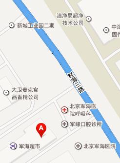 北京癫痫病医院来院路线地图