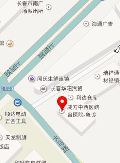 长春癫痫病研究院来院路线地图