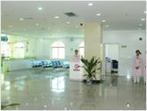 昆明癫痫病医院宽敞的挂号窗口