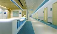 北京癫痫病医院宽敞明亮的医院走廊